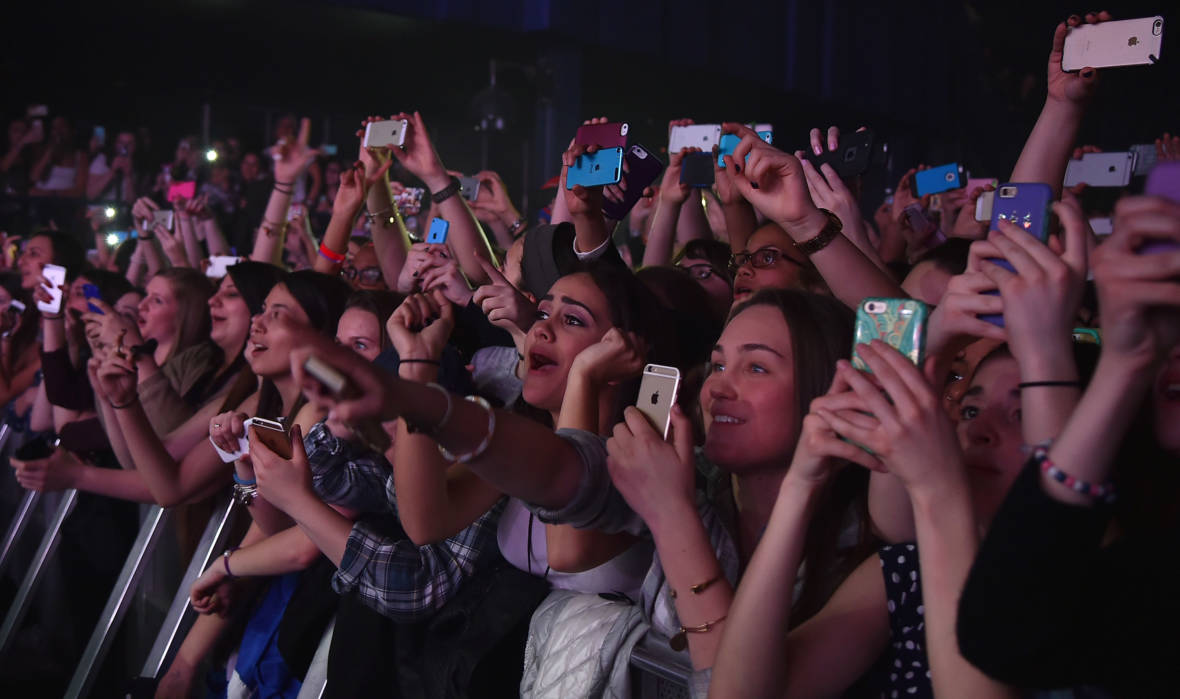 Let's Just Ban Cell Phones from Venues and Be Done with it Already