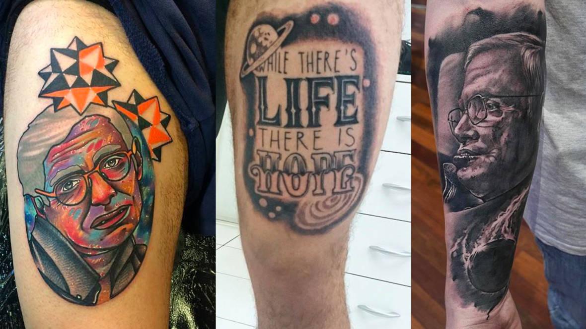 Everybody's Getting Stephen Hawking Tattoos