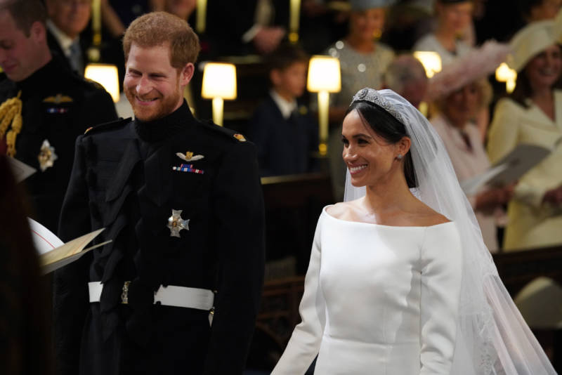 I Stayed Up All Night to Watch the Royal Wedding (So You Wouldn't Have To)