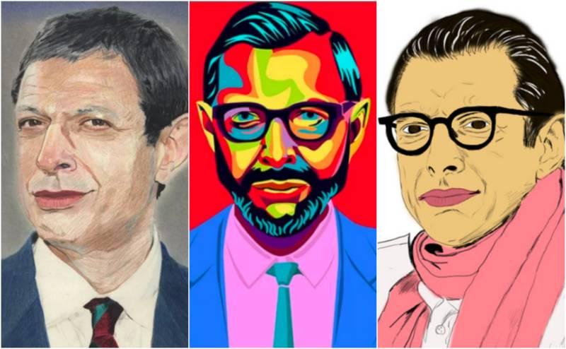 The Many Ways Jeff Goldblum Has Been Art