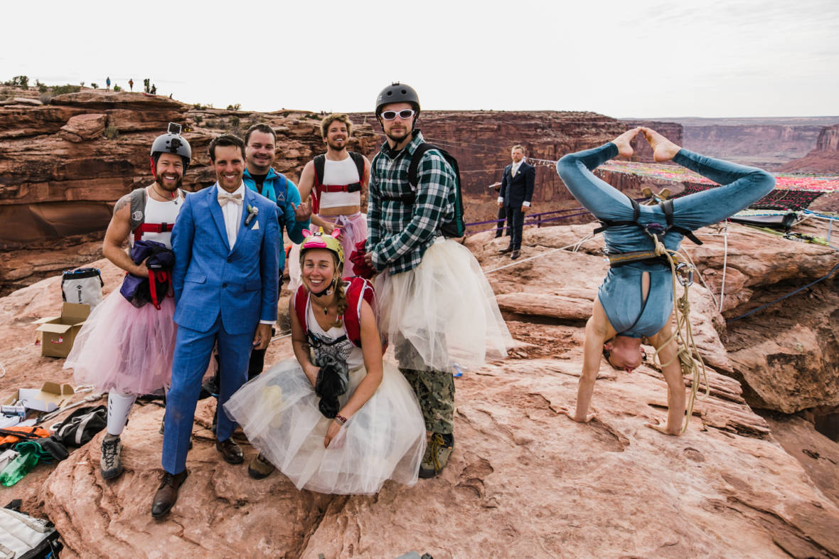 Cancel Burning Man Because These Newlyweds Already Did It