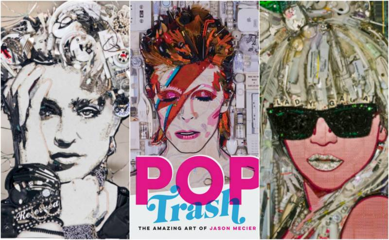 San Francisco Artist Makes Celebrities Out of Trash (And They Love It)