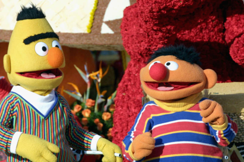 Bert and Ernie Are Finally Out of the Closet! (Sort Of...)