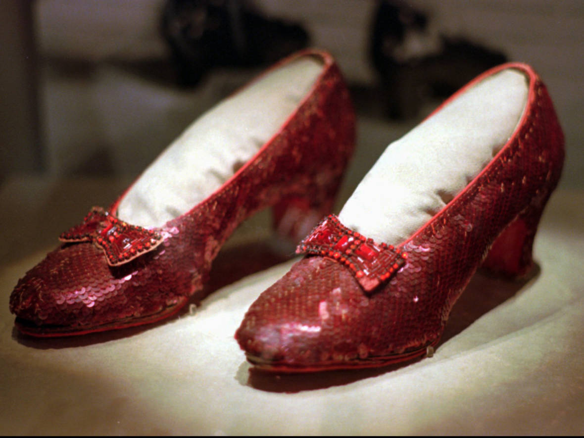 Judy Garland's Stolen Ruby Slippers Recovered By FBI After 13 Years
