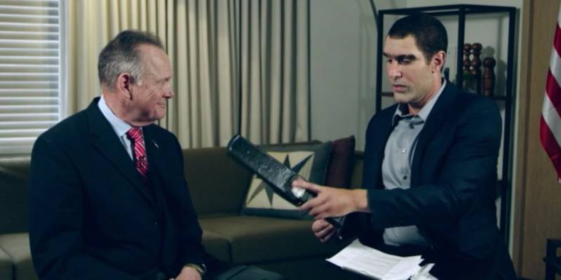 Sacha Baron Cohen is Getting Sued By Roy Moore Over 'Who Is America?'
