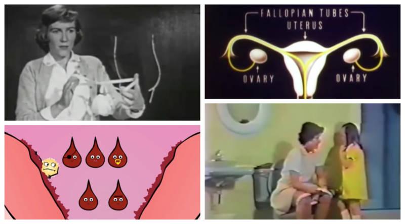 A Brief History of (Terrible) Menstruation Education Videos