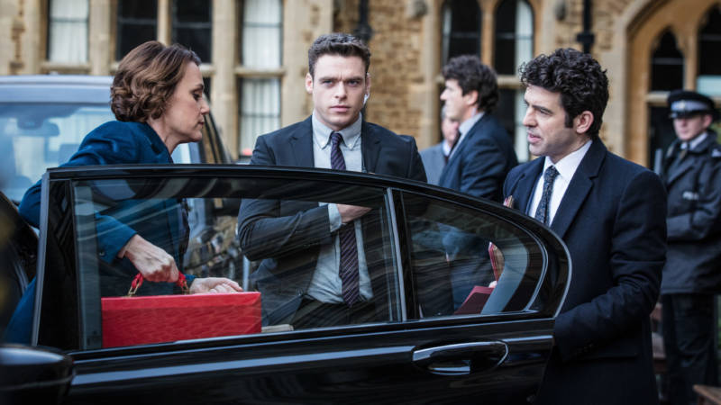Keeley Hawes, Richard Madden and Paul Ready star in 'Bodyguard', coming to Netflix on October 24.