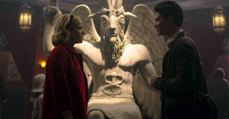 In Another Chilling Adventure, 'Sabrina' is Getting Sued by Satanists