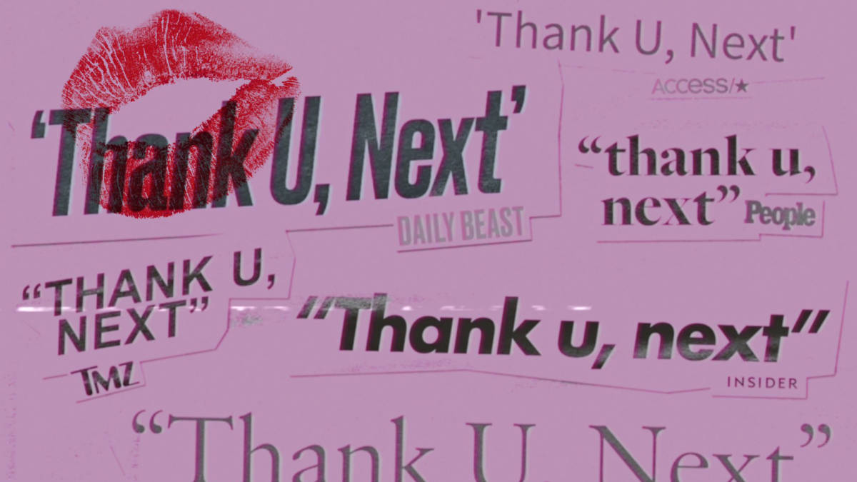 Image result for thank you next