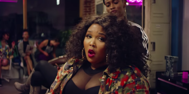 "Lizzo, feeling ""Good As Hell""."