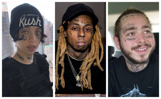 How Some Rappers Are Re-Writing Rules About Face Tattoos ...