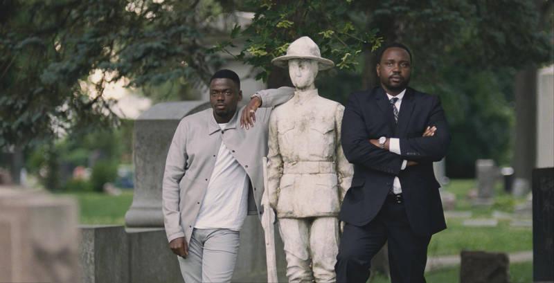 Daniel Kaluuya and Brian Tyree Henry in 'Widows'.
