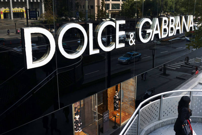 A Dolce & Gabbana store in Hangzhou, China, is among the nearly 60 that the luxury brand has in the country.