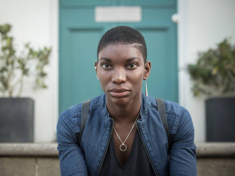 Michaela Coel plays a survivor of the Rwandan genocide in the BBC/Netflix miniseries, 'Black Earth Rising.'