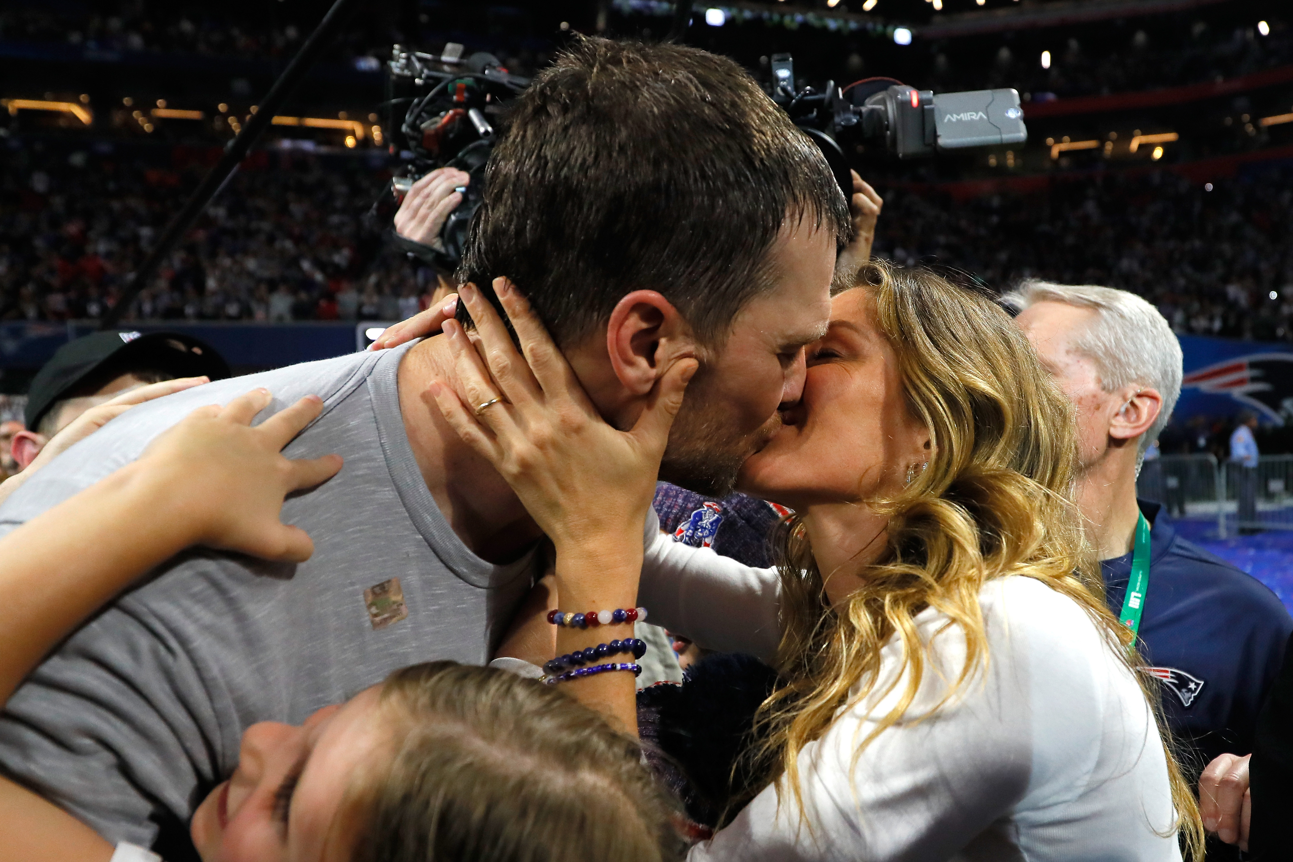Leave Tom Brady S Mouth Kisses Alone Kqed