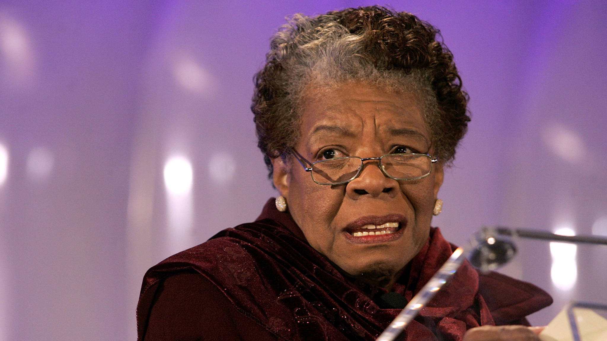That's Ms. Maya Angelou To You!