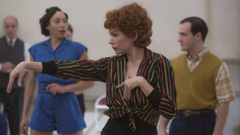 Michelle Williams gives it her all as Gwen Verdon.