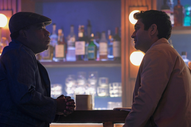 "Tracy Morgan and Kumail Nanjiani in ""The Comedian."""