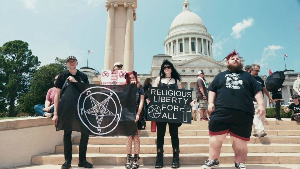 'Hail Satan?' Examines Protest Group That Bedevils Religious Conservatives