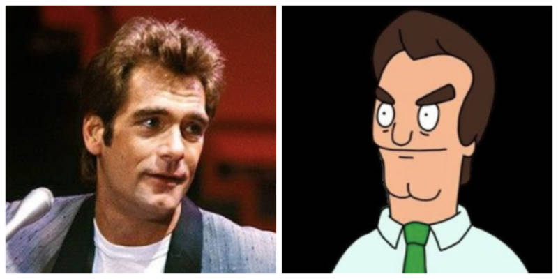 Jimmy Pesto is basically Huey Lewis in cartoon form.