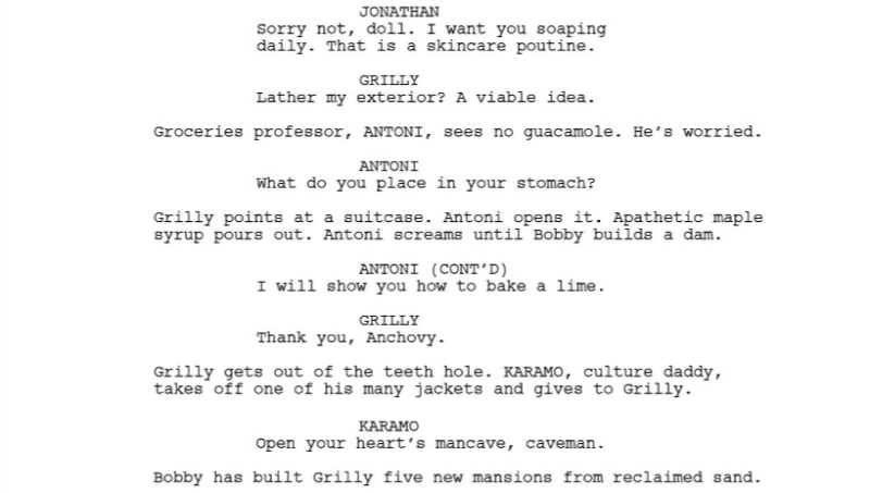 A Man And His Bot Wrote A Fake Queer Eye Script And It Is