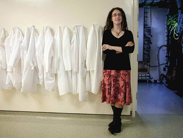 Katie Pollard, a geneticist at the Gladstone Institutes in San Francisco, is working on cataloging the human microbiome. (Courtesy photo)