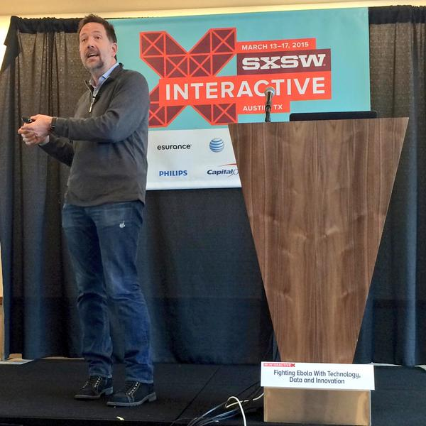 Steven VanRoekel speaking at SXSW in Austin, Tx.