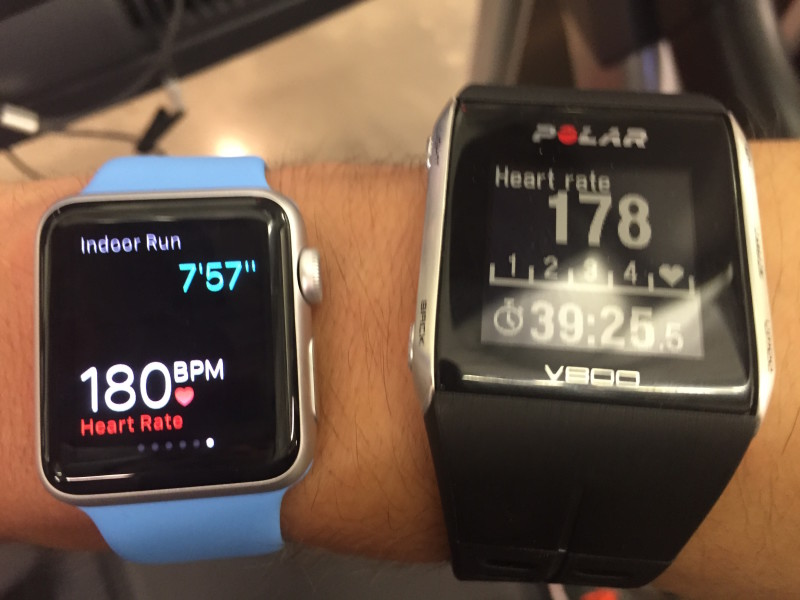 The Apple Watch came close to accurate heart rate tracking -- for a second