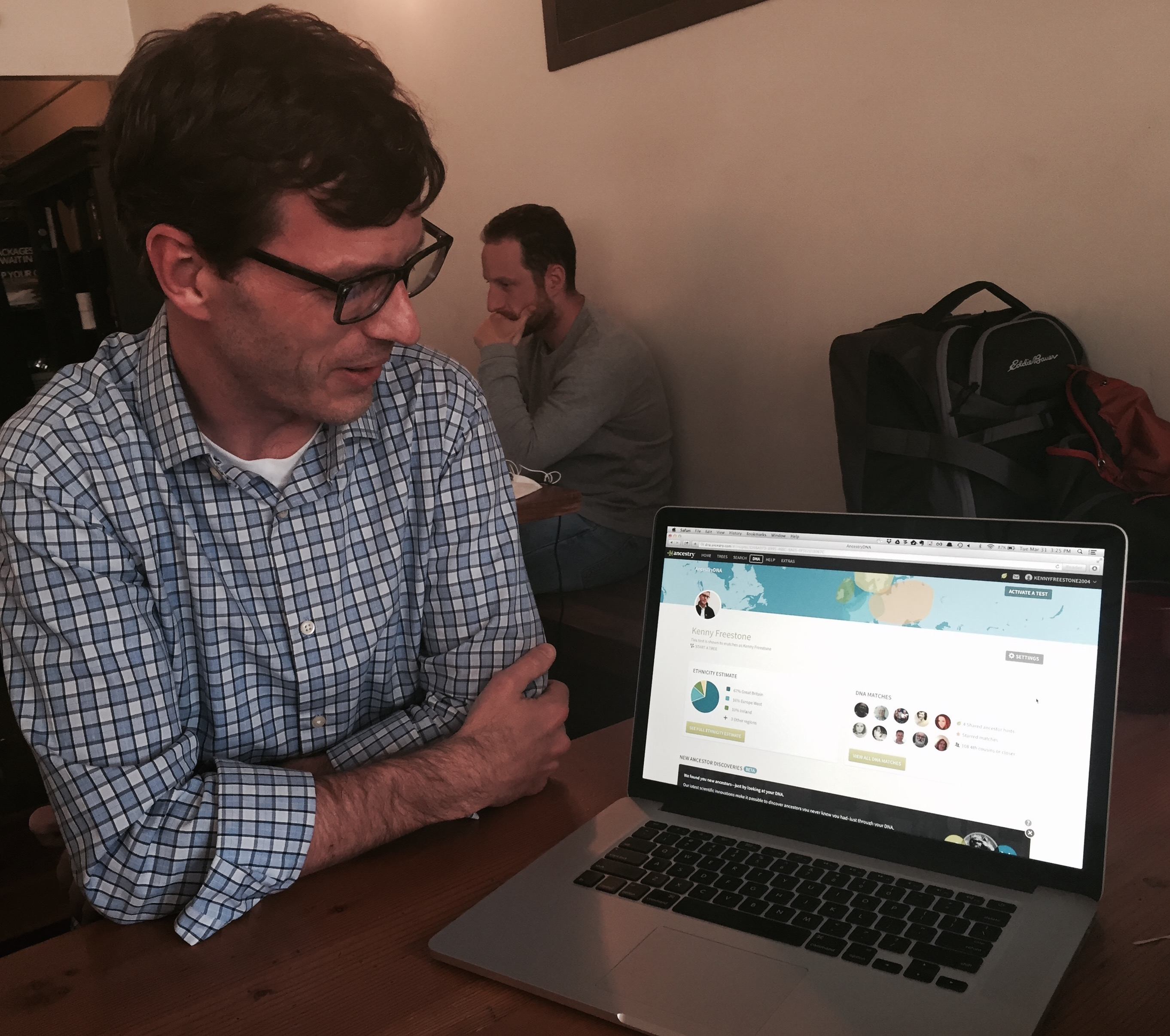 AncestryDNA's product manager Kenny Freestone finds a link to a long-lost relative