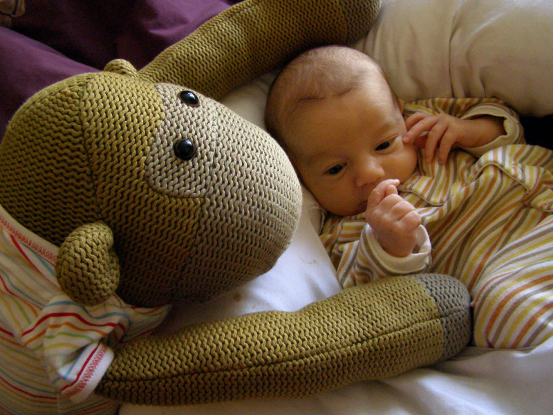 It's important to choose products that increase caregivers' interactions with an infant