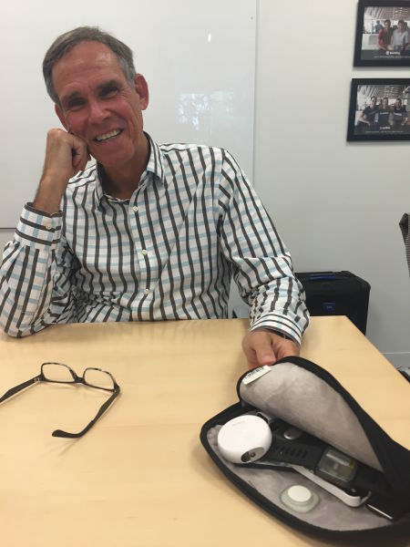 Eric Topol at the Rock Health offices in San Francisco