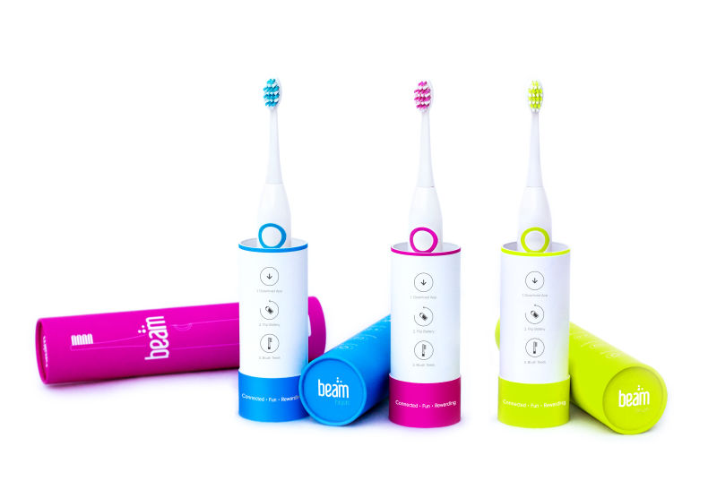 """The Beam """"smart brush"""" collection"""