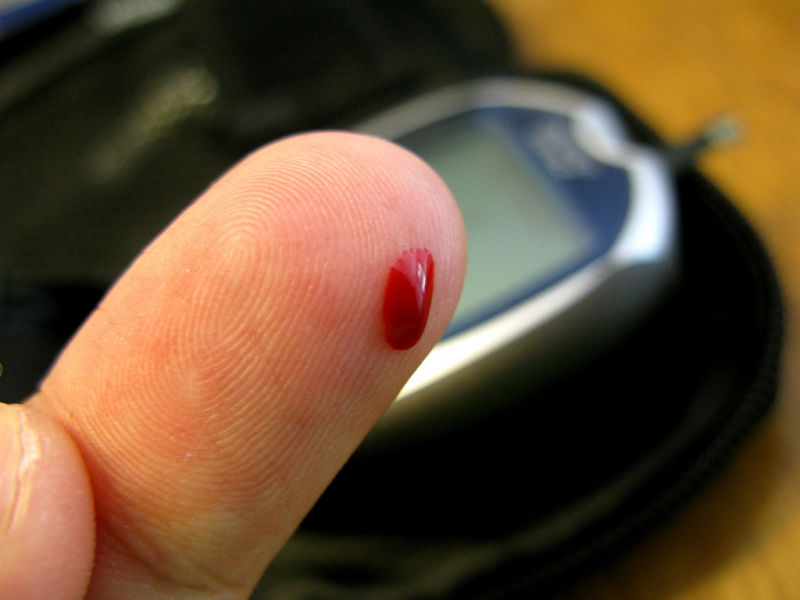 When diabetics initially start taking insulin shots, they need to check their blood sugar at least once a day to make sure their medication dose is correct.
