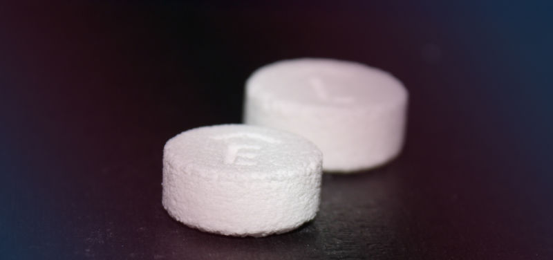 The drug Spritam is the first to be approved by the FDA that was manufactured using 3D printing