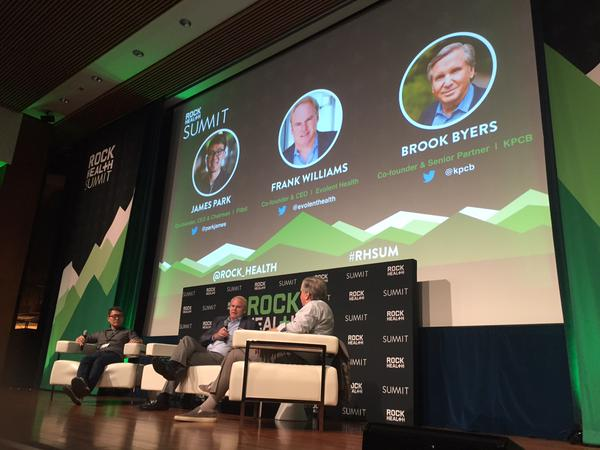 Venture capitalist Brook Byers interviews CEO's from Evolent Health and Fitbit.