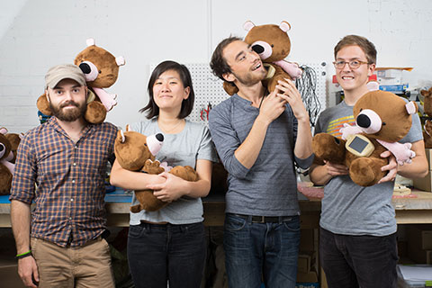 The Providence, RI-based team behind Jerry the Bear.