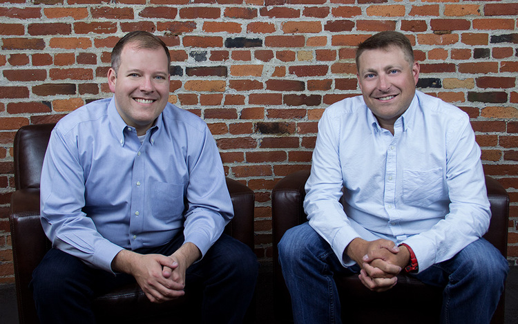 Brad Mascho and Sean Lane, the founders of CrossChx.