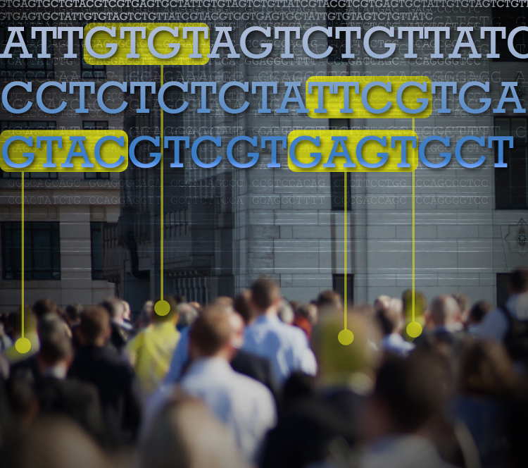 Figuring out which DNA differences matter is a tricky business. (NHGRI)