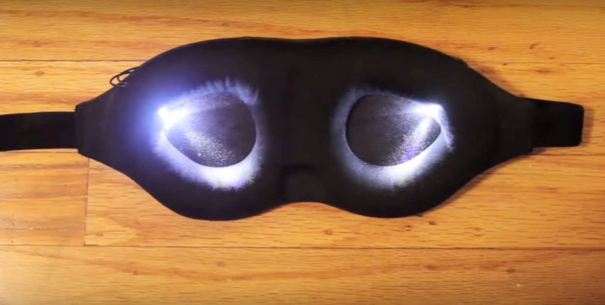 More than 100 people have beta tested LumosTech's flashing light mask and CEO Vanessa Burns says it'll be commercially available late this summer.