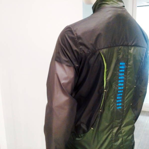 Myant wearable tech jacket