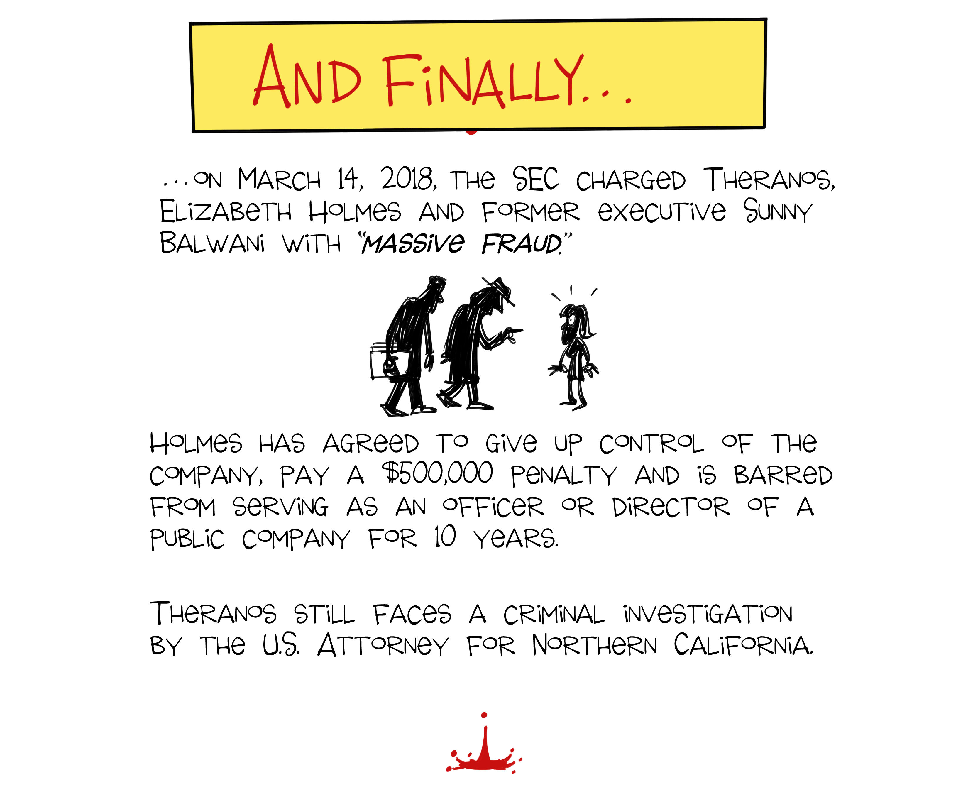 The Rise and Fall of Theranos: A Cartoon History | KQED