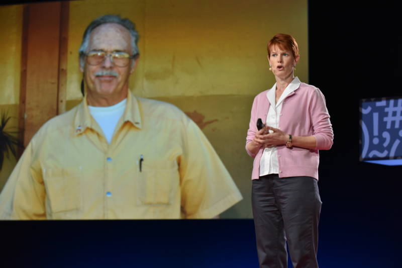 Prison psychologist Cheryl Steed shares inmate Mr. Burdick's story to illustrate how helping others can rehabilitate hardened criminals.