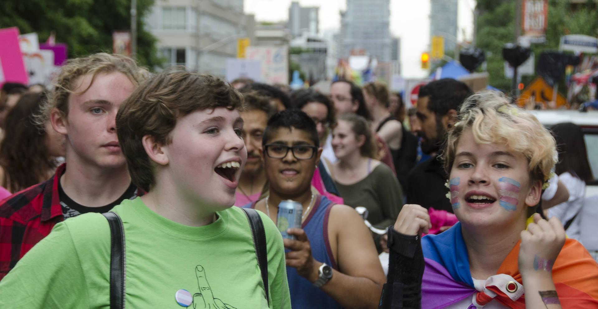 Gender nonconforming heterosexual