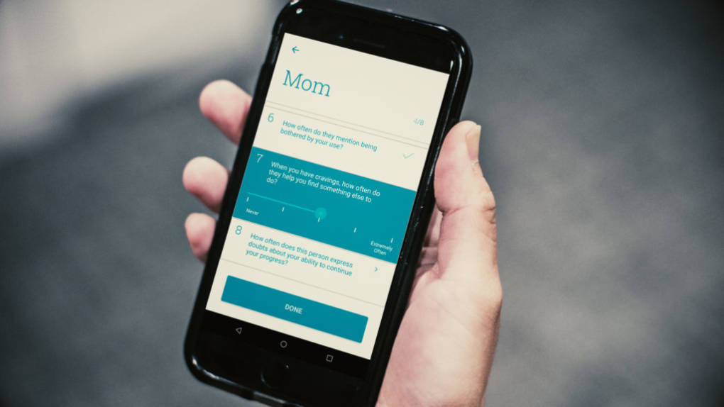 Can an App Warning to Avoid Risky Friends Prevent Opioid Relapses?