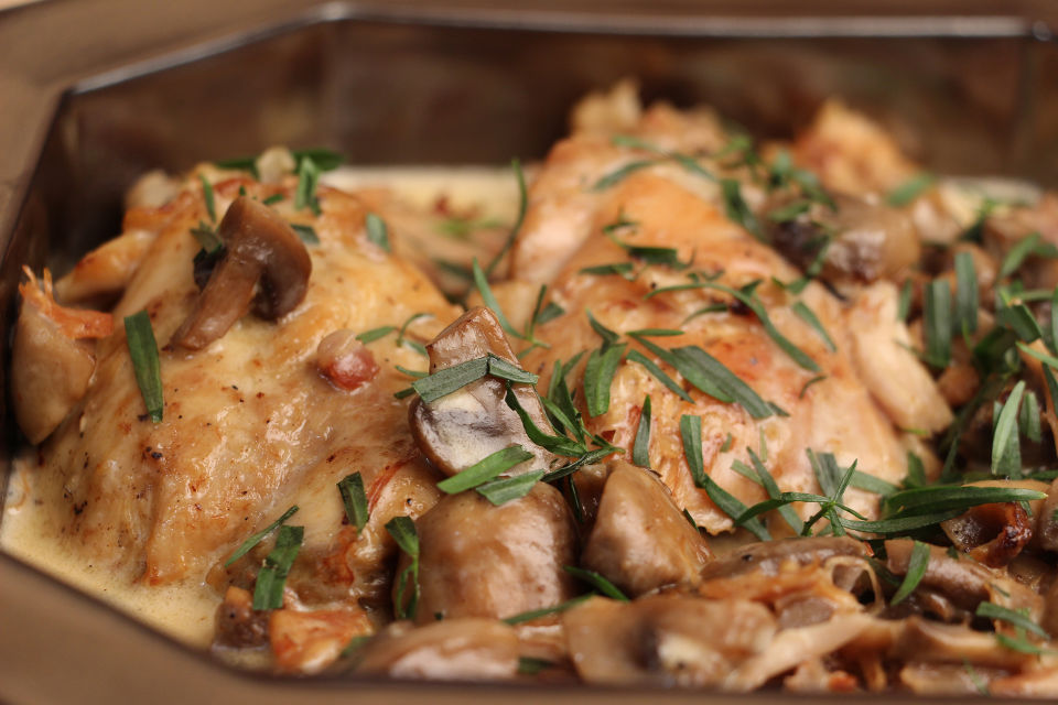 Poulet La Crme Jacques Pepin Heart And Soul Kqed Food
