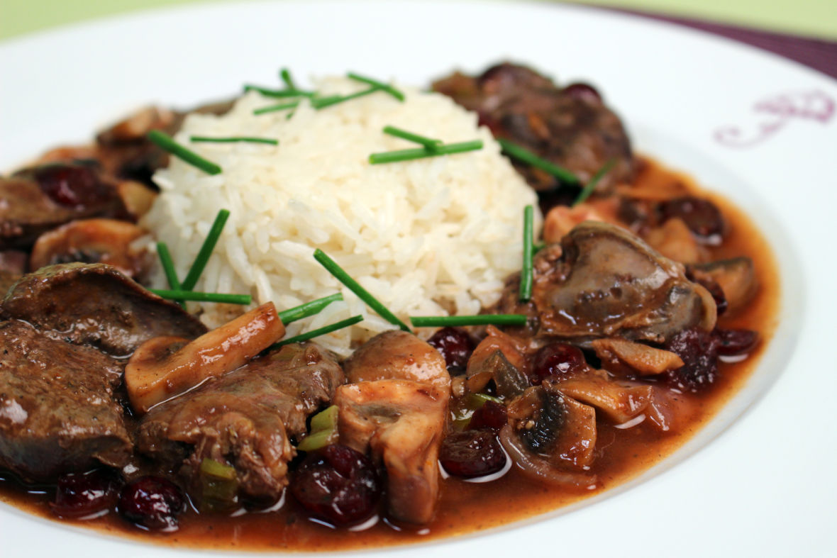 Chicken livers in mushroom port sauce jacques pepin heart and recipe chicken livers in mushroom port sauce forumfinder Choice Image