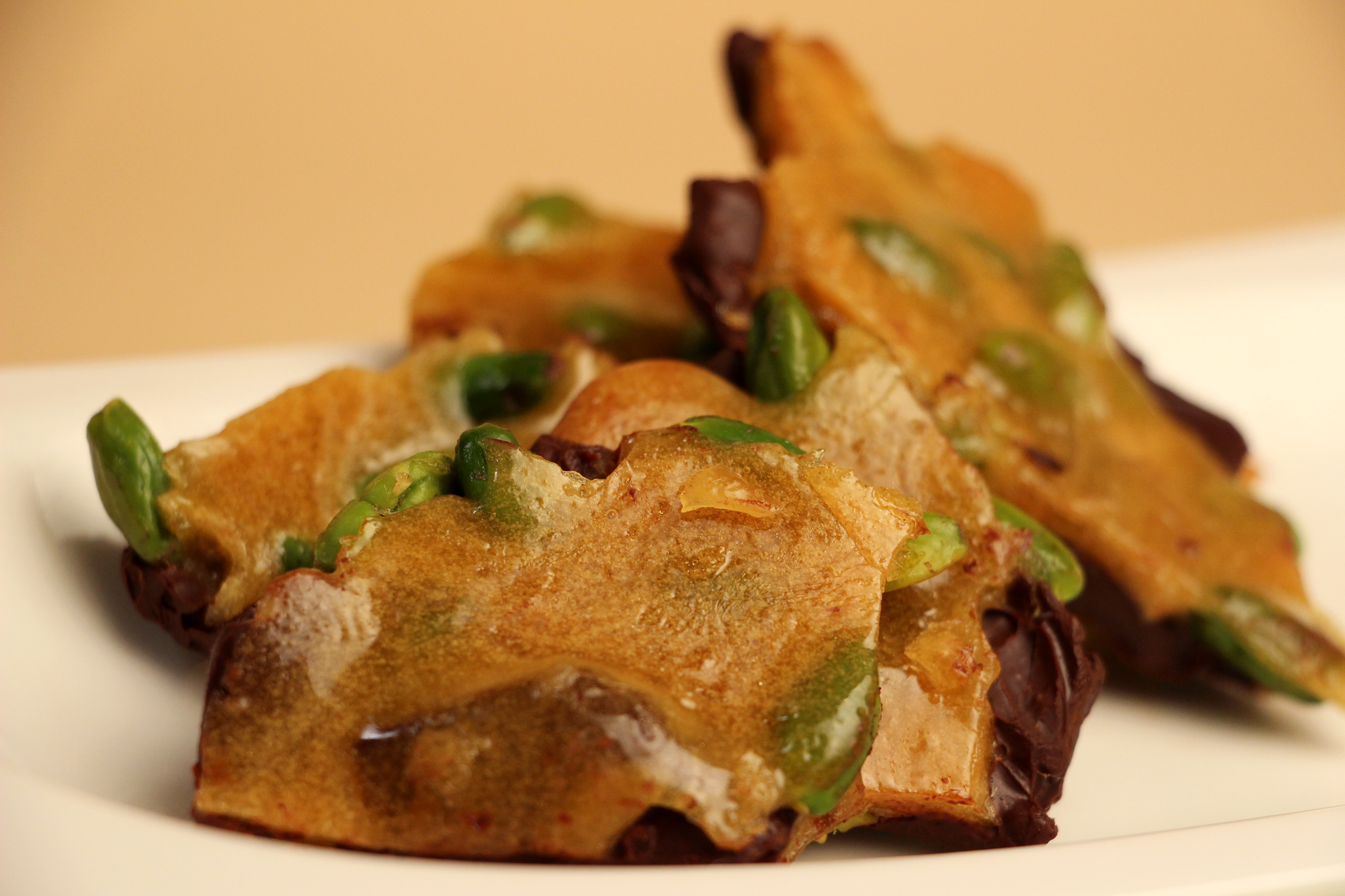 Chocolate Pistachio Brittle | Jacques Pepin – Heart and ...