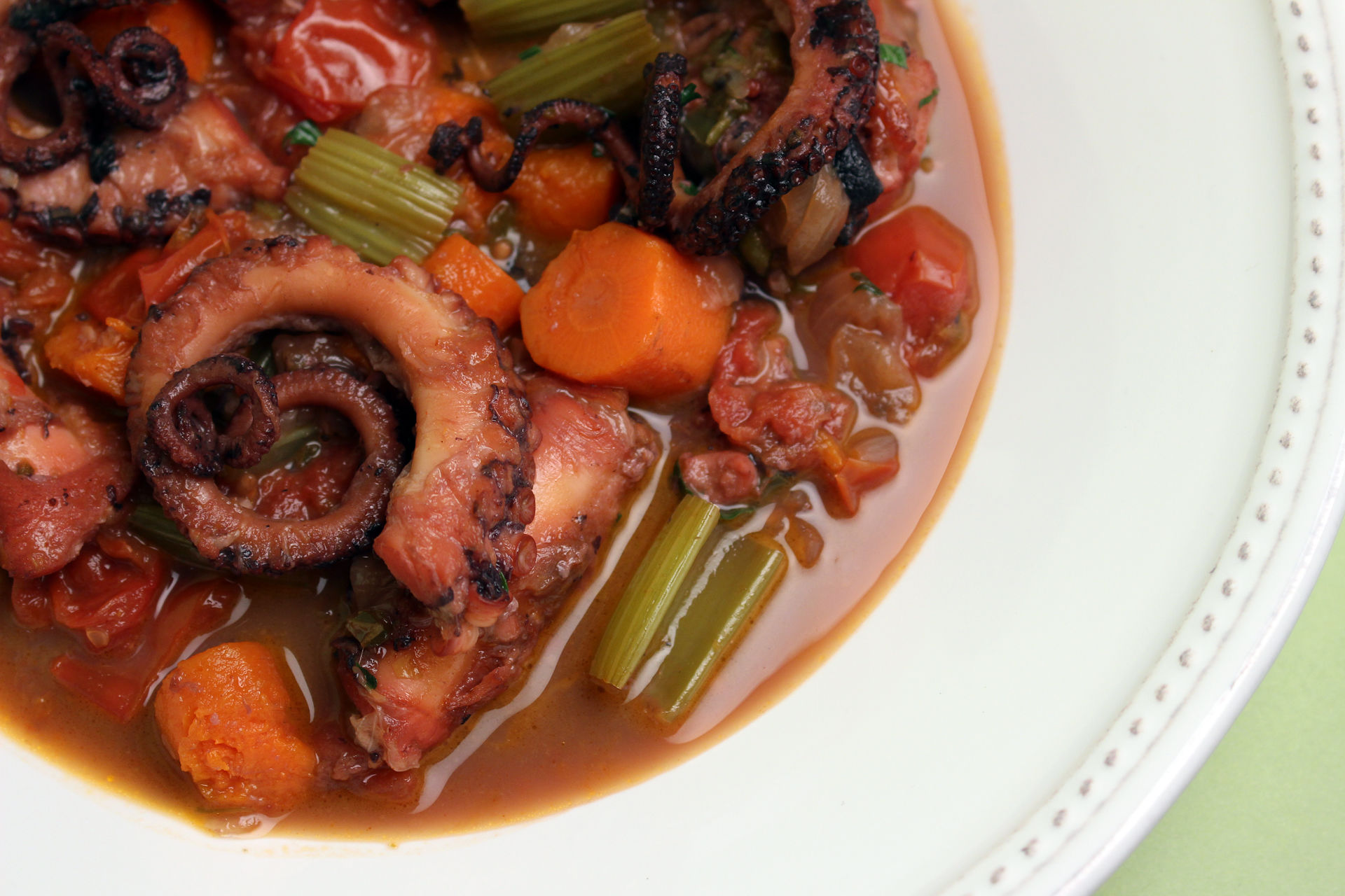 Octopus Stew with Onions, Paprika, and Wine | Jacques Pepin – Heart ...
