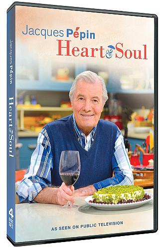 DVD: Jacques Pépin Heart & Soul