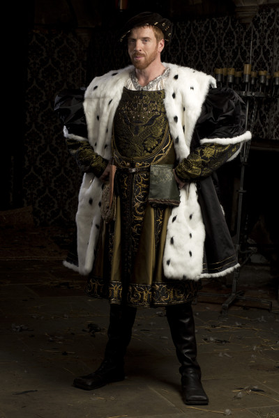 Damian Lewis as Henry VIII